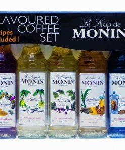 Monin Flavoured Coffee Sirup Set 5x50 ml-0