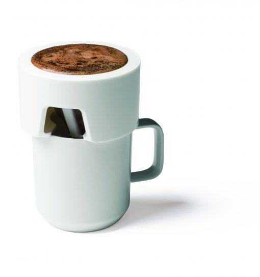 Kinto Set aus Kaffeesieb und Portionslöffel