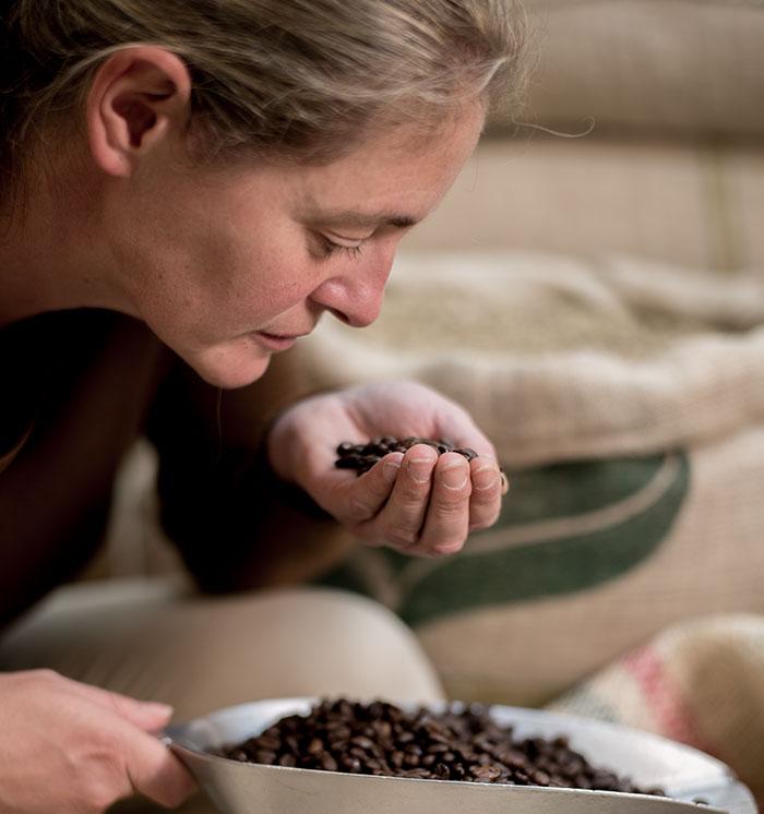 Kaffeesommeliere Sabine Braunegger