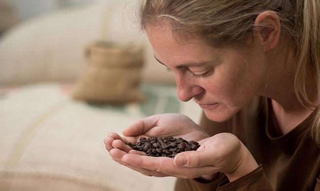 Kaffeesommelière Sabine Braunegger